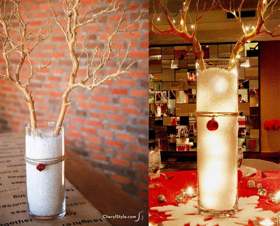Centro de mesa de navidad ecologicos centros de mesa 250 - Hacer centros de navidad ...